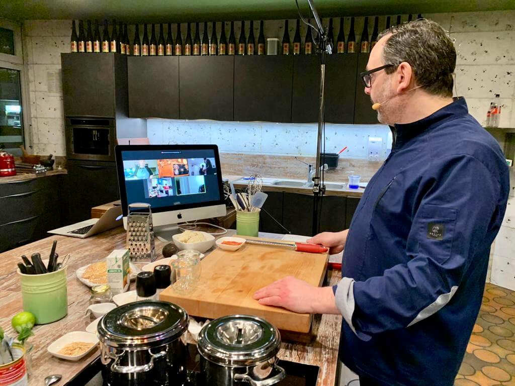 Online Kochkurs mit Christian Müller